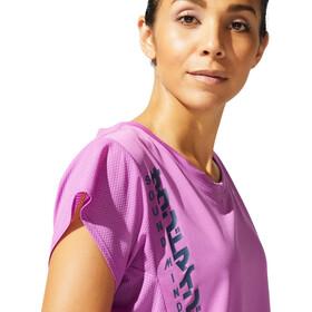 asics SMSB Run SS Top Women, violet